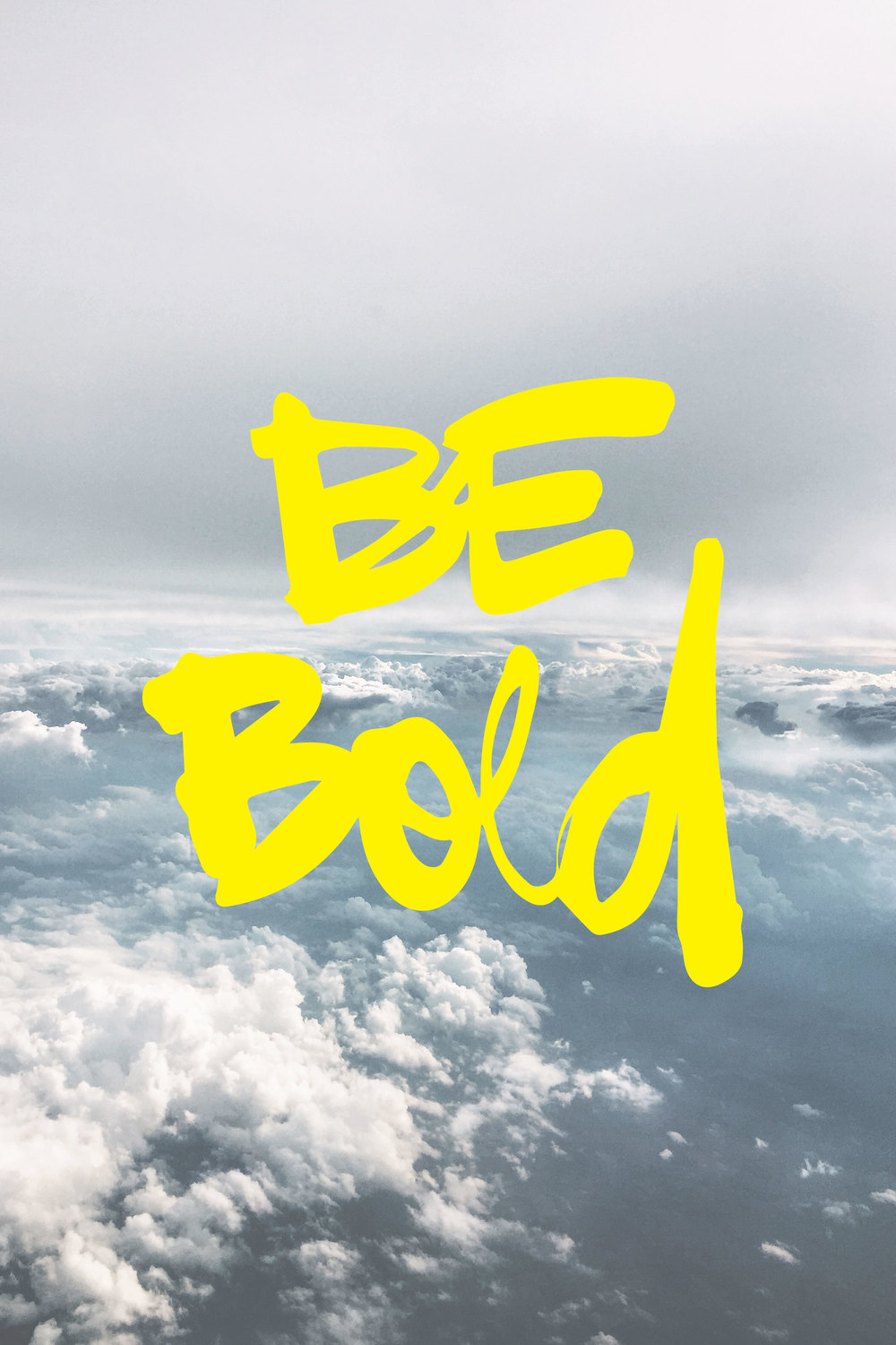 Be Bold 20x30 - Wood Print $175.00