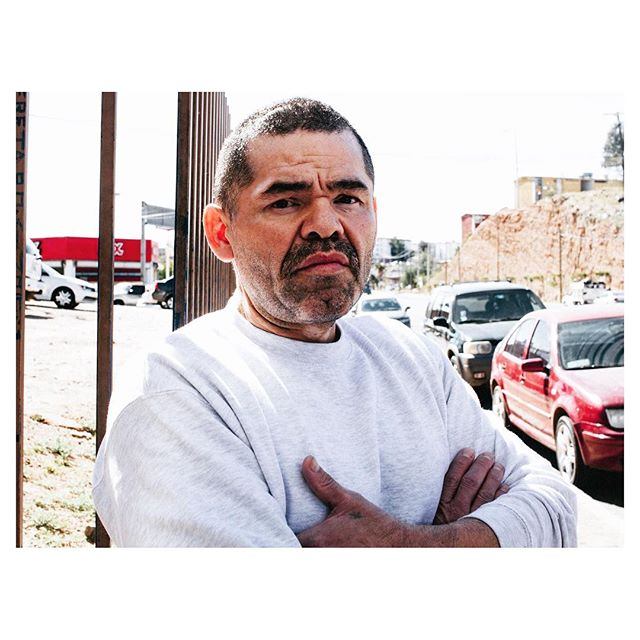 "We met Enrique at ""El Comedor"" at about 11AM, he had just been deported into Nogales, Mexico at 7AM. Enrique shared with us that he spent about 11 years in prison for a crime he committed while living in the USA. Having a criminal record was the cause of his deportation into Mexico and the withdrawal of his green card. Enrique didn't go into detail about the crime he committed but did mention that his actions had consequences and that he was paying for what he did. ""Criminals like me, have to deal with the consequences of (the) bad decisions we make. Unfortunately, it's because of people like me, that a lot of the hard working immigrants, those who just want to provide for their families, get labeled as criminals"". I could tell that Enrique felt convicted about his current situation and that he saw himself as part of the immigration problem that's currently affecting many people in our country. Internally, Enrique was dealing with remorse, he knew why he got deported to this unknown place in the Sonora desert, where he now has to find a way to start over. #borderstories ________________________ Conocimos a Enrique en ""El Comedor"" a eso de las 11AM, acababa de ser deportado a Nogales, México a las 7AM. Enrique compartió que pasó 11 años en prisión por delitos cometidos mientras vivía en los Estados Unidos. Tener antecedentes penales fue la causa de su deportación en México y la retirada de su residencia. Enrique no entró en detalles sobre el crimen que cometió, pero sí mencionó que sus acciones tuvieron consecuencias y que él estaba pagando por lo que hizo. ""Los criminales como yo, tienen que lidiar con las consecuencias de (las) malas decisiones que tomamos. Desafortunadamente, es debido a personas como yo, que muchos de los inmigrantes que trabajan duro, aquellos que sólo quieren proveer para sus familias, se etiquetan como criminales "". Me di cuenta de que Enrique se sintió convencido de su situación actual y que se veía a sí mismo como parte de los problemas de inmigración, que afecta actualmente a muchas personas en todo el país. Internamente, Enrique estaba lidiando con su remordimiento, el sabía por qué lo deportaron a este lugar desconocido."