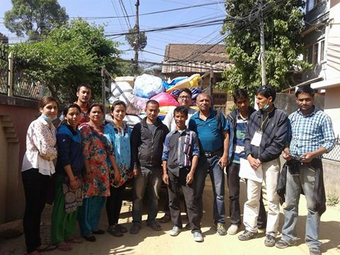 Group Ready to head towards anaikot-6(recently panchkhal-12) ,  kavre