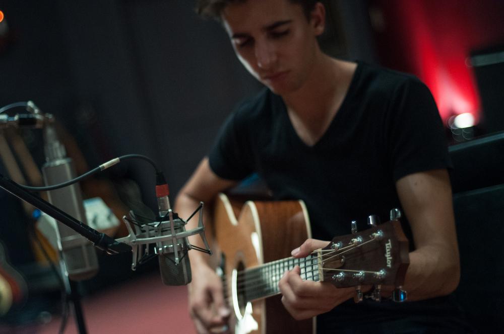 Jordan Haller Catherine North Studios Recording