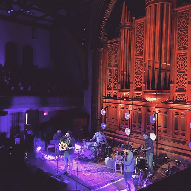 @donovanwoods and @joeylandreth filled up a beautiful venue with even more beautiful music tonight. great show. #toronto #livemusic #ainttroubled