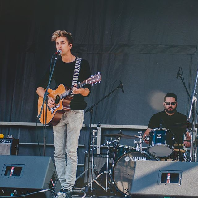 we had a blast at @supercrawl  today! thanks you everyone who stopped by our stage and listened for a while