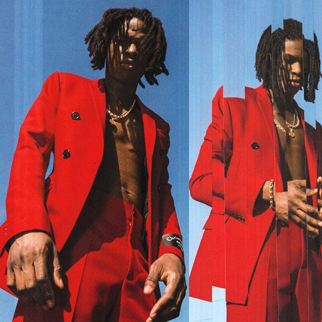 Daniel Caesar for The Prelude Issue: 20th Anniversary Volume One.  Photographed by Ian Morrison (@imorrison) Styled by Mui-Hai Chu (@muihai)  @diorhomme @chromeheartsofficial⠀⠀⠀⠀⠀⠀⠀⠀⠀ @danielcaesar  @thehollywoodroosevelt  #danielcaesar #freudian #flauntprelude #flauntmagazine #flaunt20