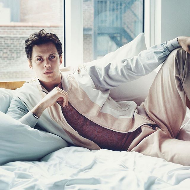 Bill Skarsgård for The Prelude Issue: 20th Anniversary Volume One  Photographer: @odjreynolds Stylist: @christianstroble  Groomer: @akgroomer Location: @hotelamericano ⠀⠀⠀⠀⠀⠀⠀⠀⠀ @zegnaofficial @billskarsgard_ #ermenigildozegna #zegna #zegnaofficial #billskarsgard #flauntprelude #flaunt20