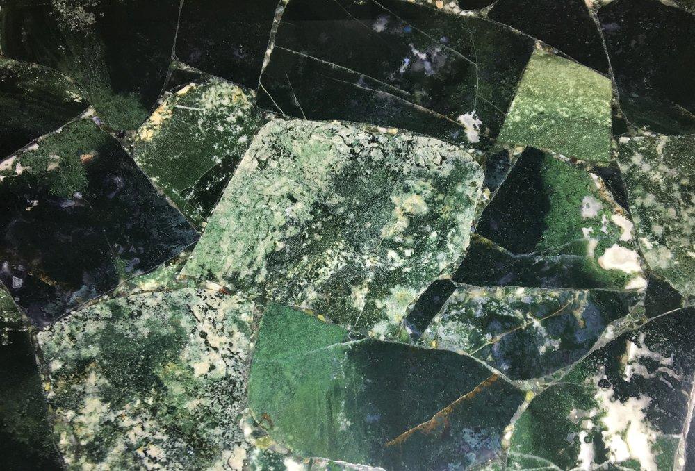 Green Agata Moss