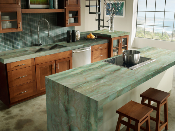 Gaya Quartzite Modern Kitchen
