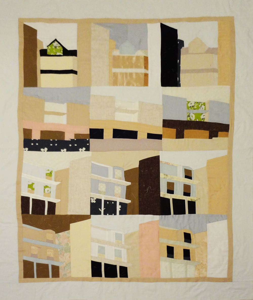 Neighborhood Quilt by Naomi Kuo