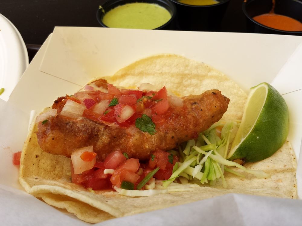 Battered Fish Taco
