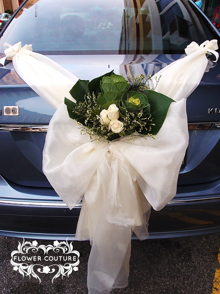 Wedding cars flower couture junglespirit Choice Image