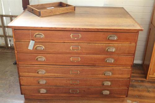 vintage oak map drawers 4.jpg