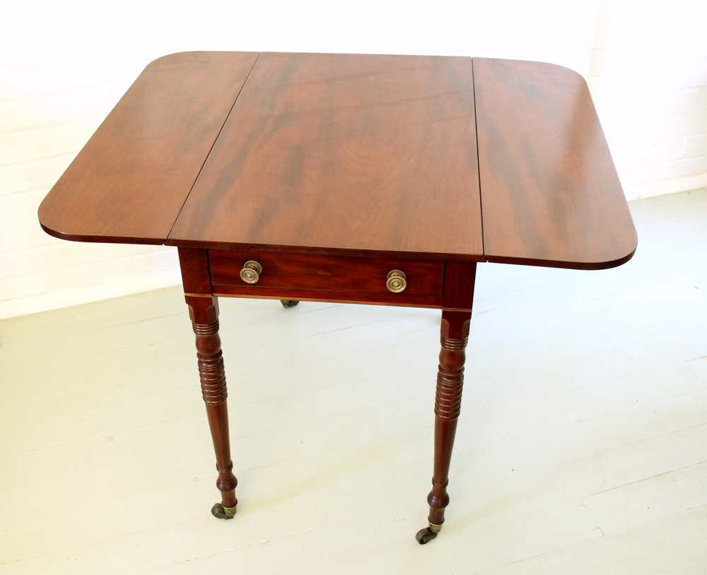 Antique Mahogany Pembroke Table.jpg