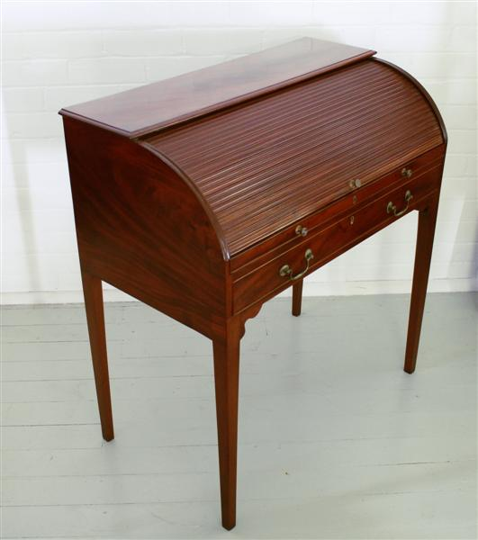 antique mahogany tambour desk.jpg