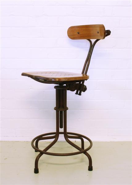 Industrial vintage antique stool.jpg