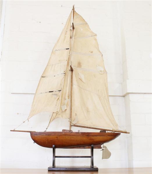 vintage wooden pond yacht.jpg