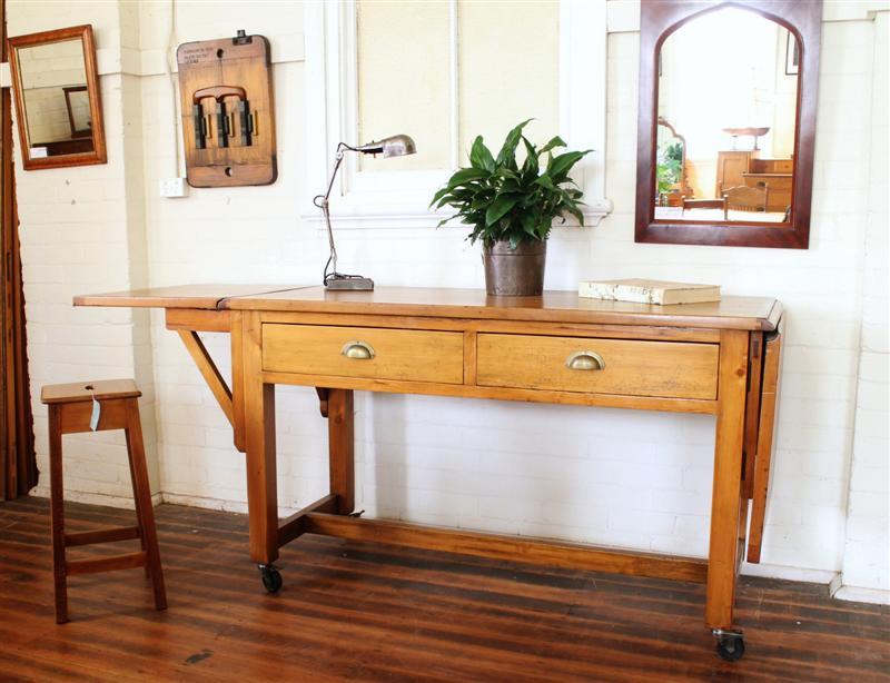 Vintage two drawer bench.jpg