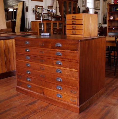 vintage silky oak plan drawers.jpg