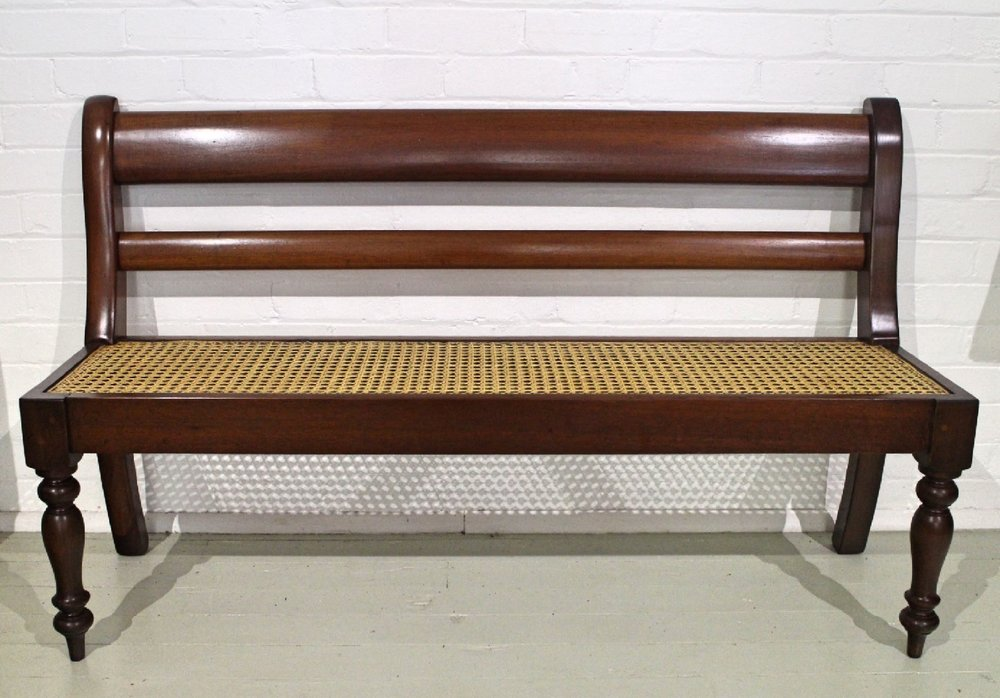 Antique Australian Cedar Bench Seat