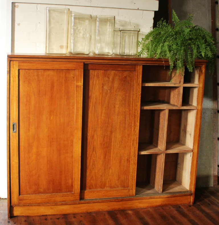 Vintage Tasmanian Oak Cupboard.jpg