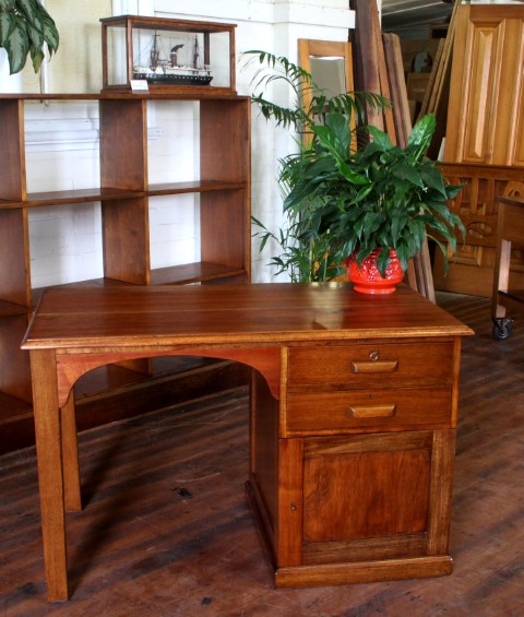 small antique Rosewood Desk