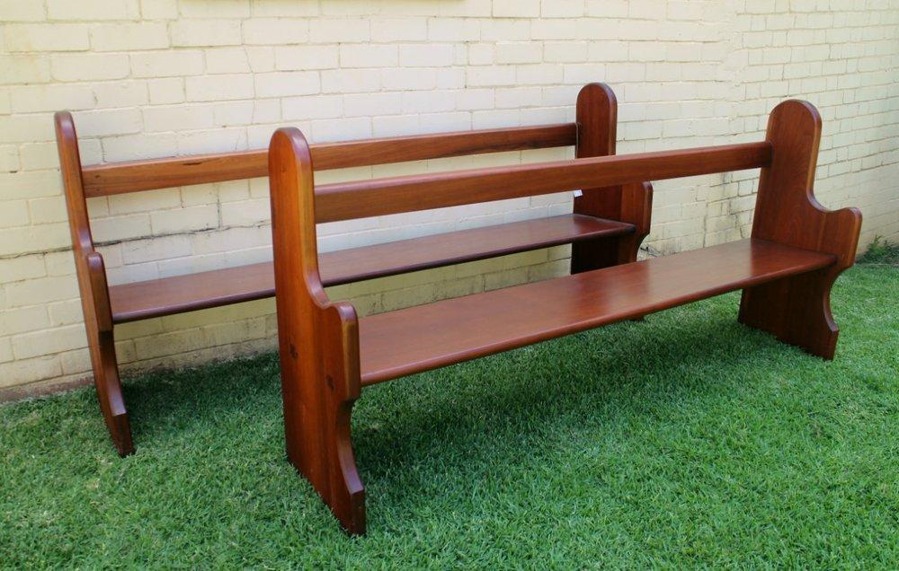 Australian Cedar Pews