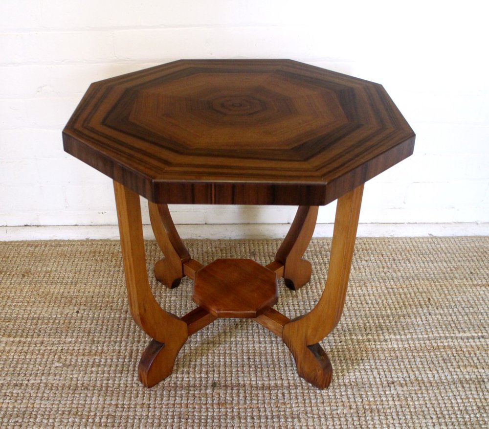 Australian Octangonal Art Deco Occasional Table.jpg