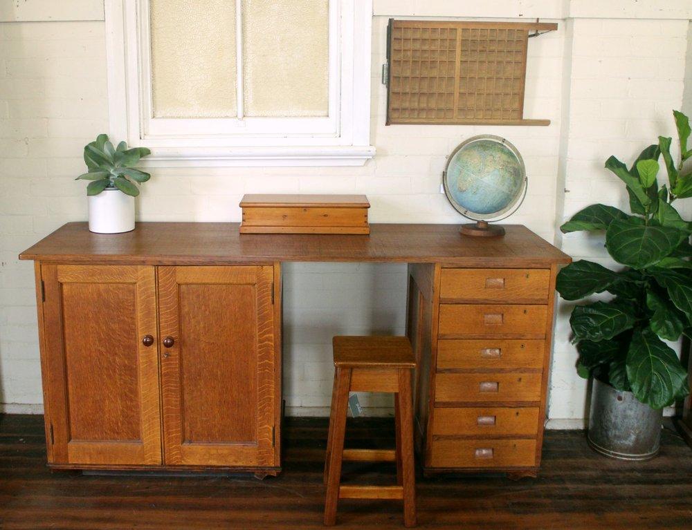 English Oak Tall Desk.jpg