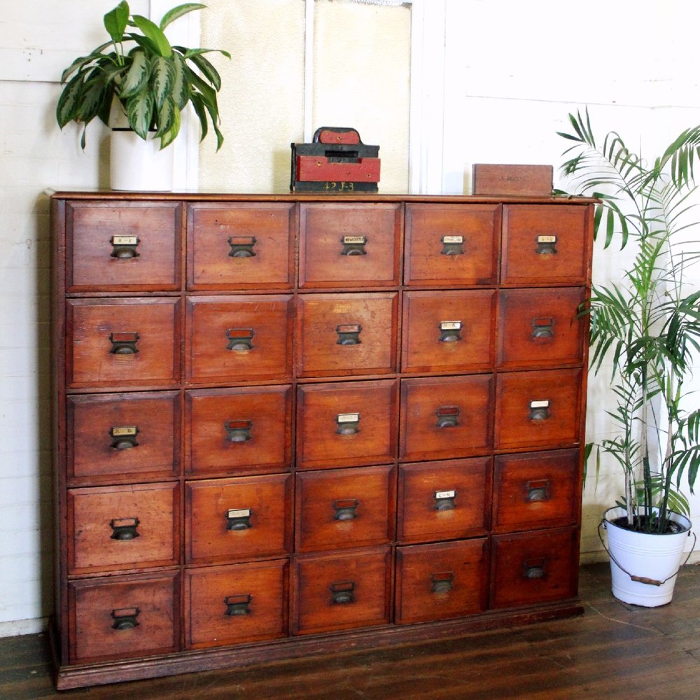 Rare Vintage Filing Drawers.jpg