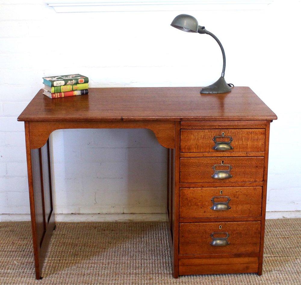 Vintage Silky Oak Desk.jpg