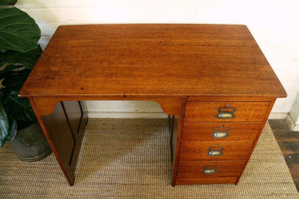 Antique Silky Oak Desk 3.jpg