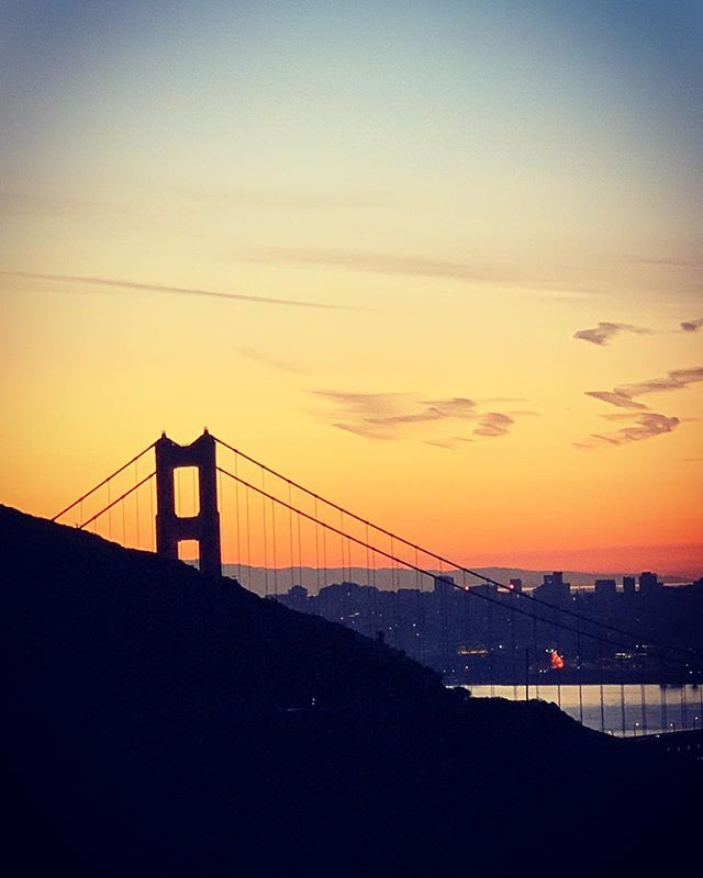 The Golden Gate at Sunrise never disappoints...