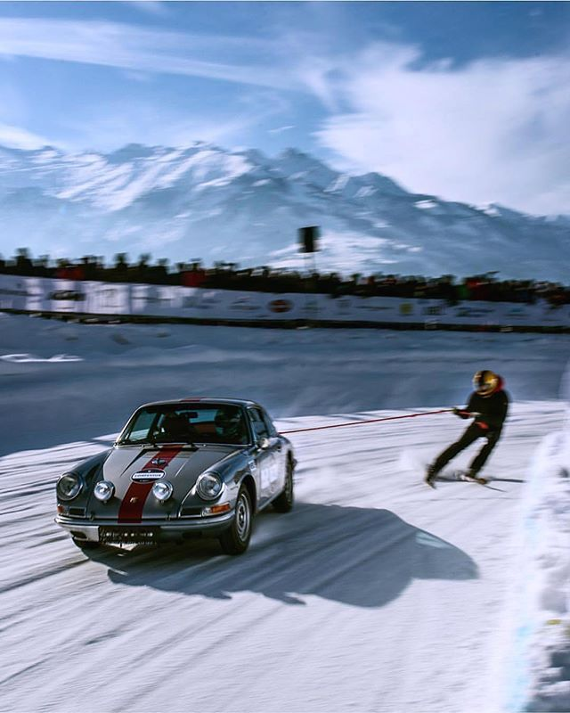 Gone |  Skiing . . . . . . . . . 📷 @stephan_bauer #GPIceRace #GentlemanModern  #Badass #Porsche911 #Vintage #Porsche #911s #911 #ClassicPorsche #VintagePorsche #classiccar #vintagecar #Drivetastefully #Snow #carporn #Cool #Drive #ski #skiing by @stephan_bauer