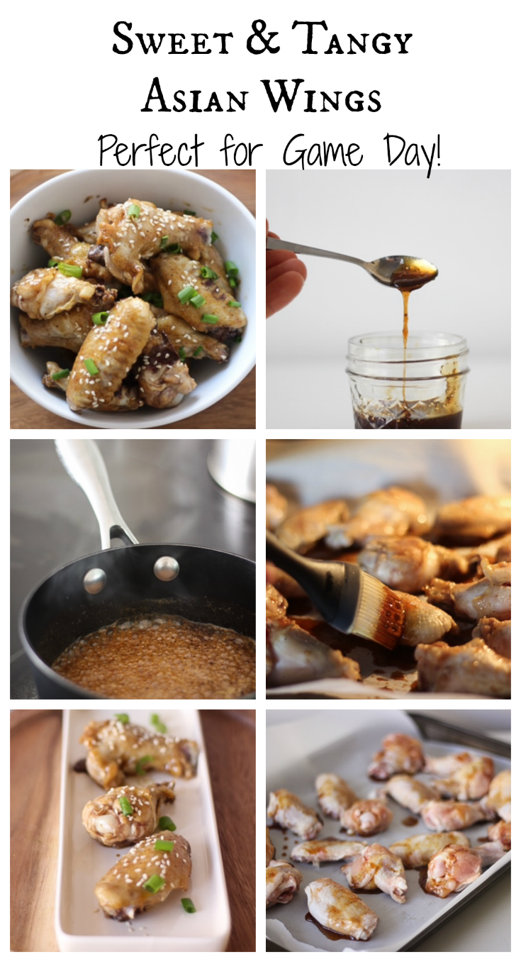Sweet & Tangy Asian Wings
