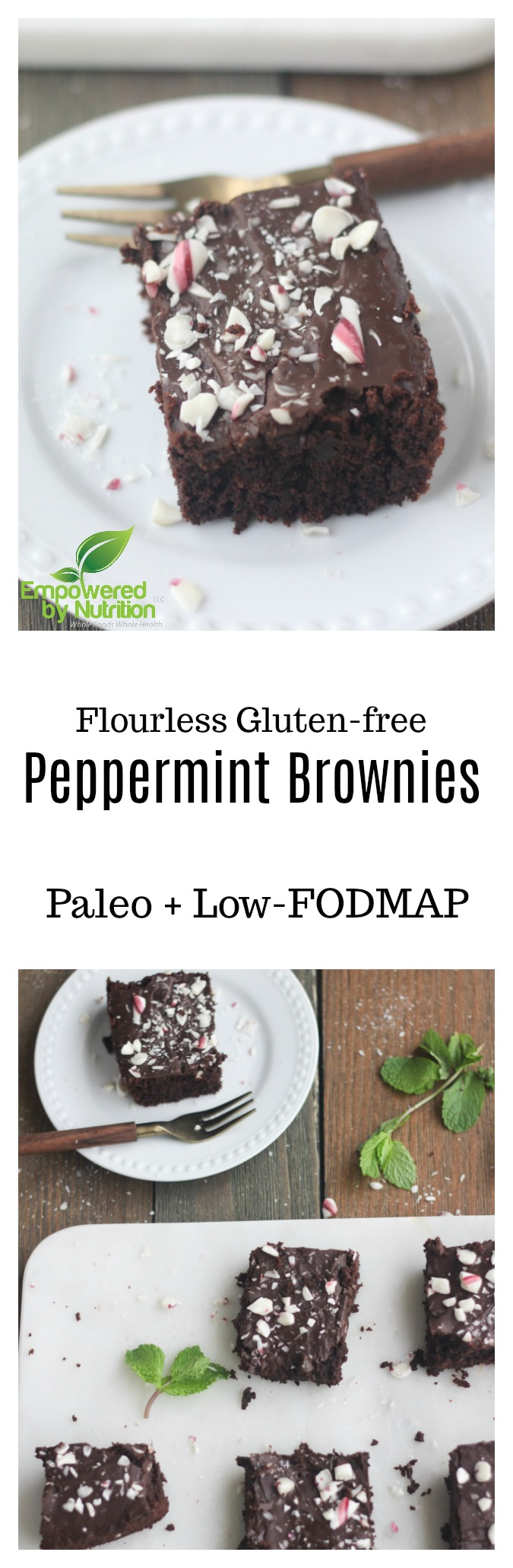 Peppermintbrownies.jpgGluten-free Paleo peppermint brownies dairy-free grain-free Christmas recipe
