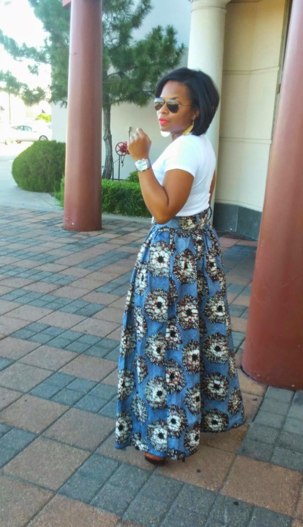 Maxi skirt - DIY