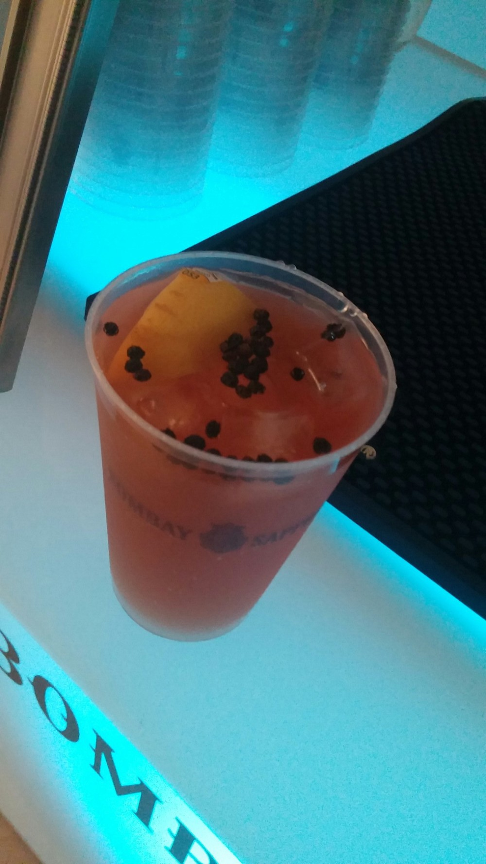 Black Peppered Peach Tea