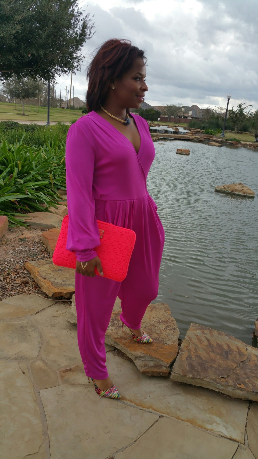 Magenta Jumpsuit by 3degreesdb.com, http://www.3degreesdb.com/3degreesdb-three-generations-blog/2014/12/17/magenta-jumpsit