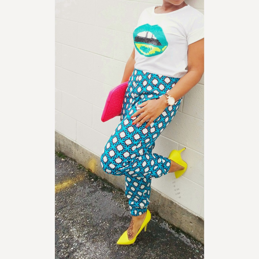 DIY Ankara Pants