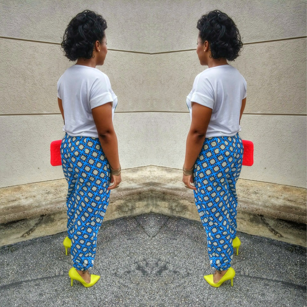 DIY Ankara Pants on www.3DegreesDB.com