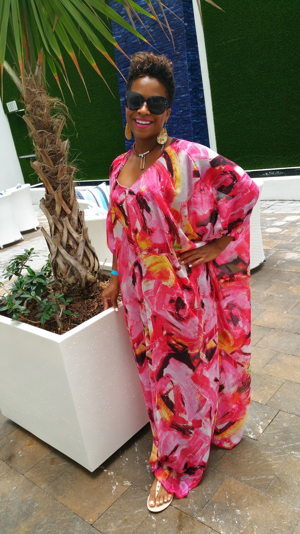Easy Caftan DIY on www.3DegreesDB.com