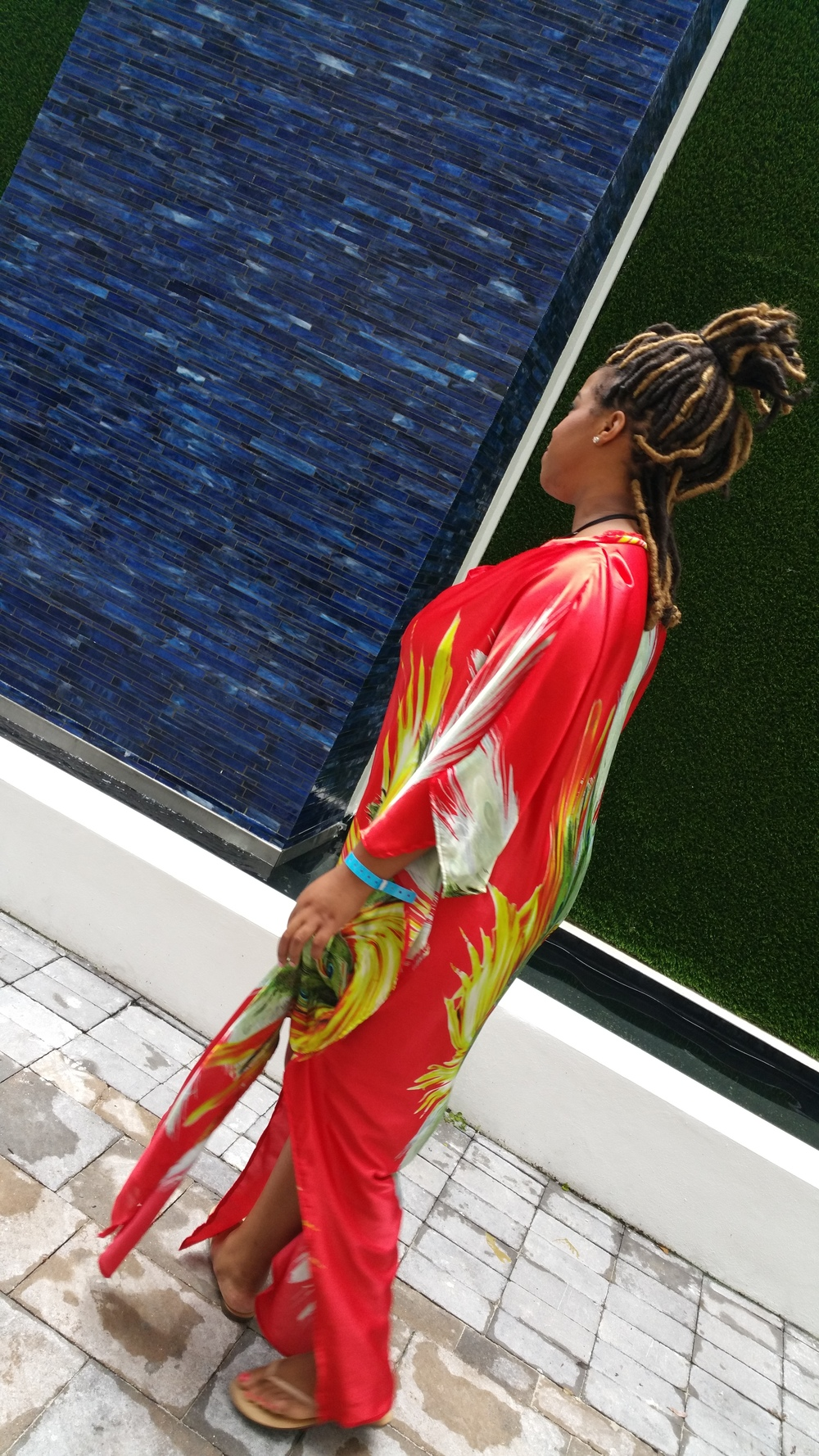 DIY Caftan on www.3DegreesDB.com