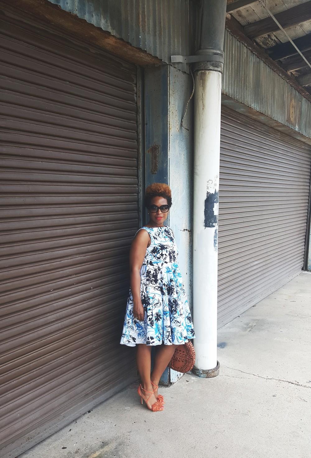 Dress: Vogue 1102