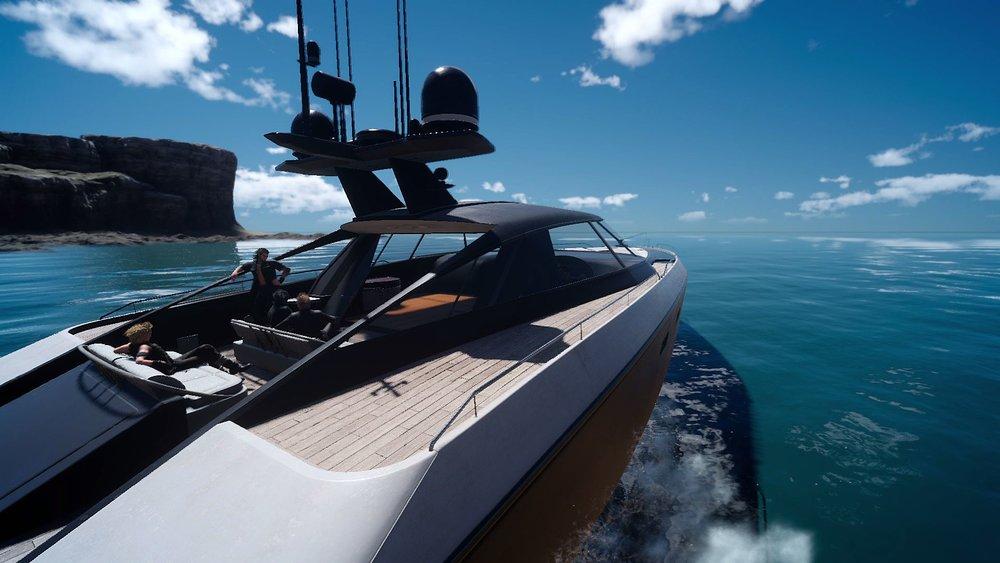 Le bateau. Le début de la fin du plaisir.