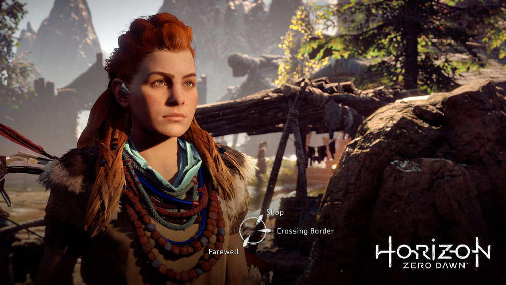 Le personnage d'Aloy est attachant et loin des stéréotypes du jeu vidéo