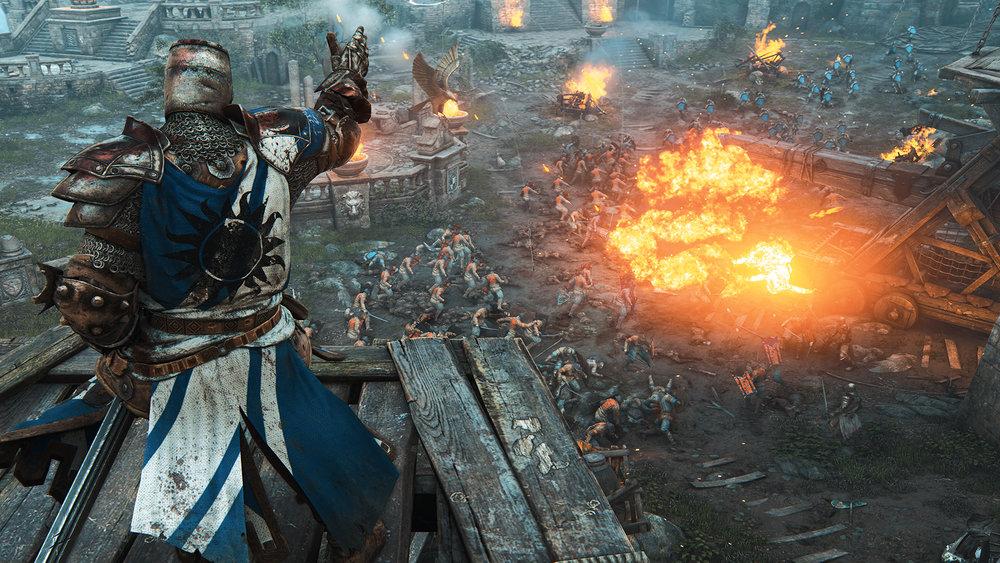 Dans For Honor, c'est la guerre sur la champs de bataille