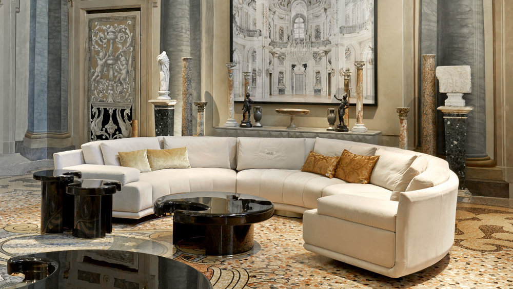 Art— selectional sofa and Drop coffee and side tables.jpg