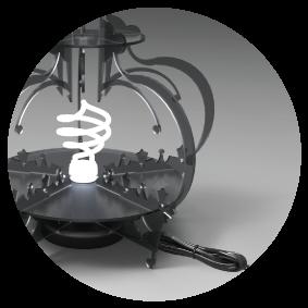 LaserCut Lamp