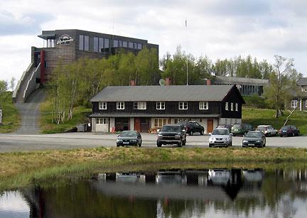 NVS Sør har sine kontorer i Hardangervidda nasjonalparksenter på Skinnarbu.