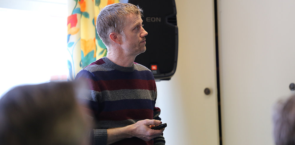 Jørn T. Haug er prosjektleder for delprosjekt 1, 2 og 3. Foto: Anders Mossing