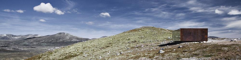 viewpoint SNØHETTA ved Norsk villreinsenter Nord er et sentralt objekt i delprosjekt 1. Foto: Ketil Jacobsen