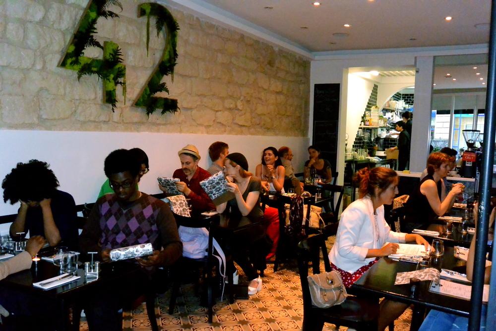 Raw Vegan Restaurant Paris